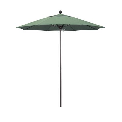 ALTO758117-SA13 7.5' Venture Series Commercial Patio Umbrella With Bronze Aluminum Pole Fiberglass Ribs Push Lift With Pacifica Spa