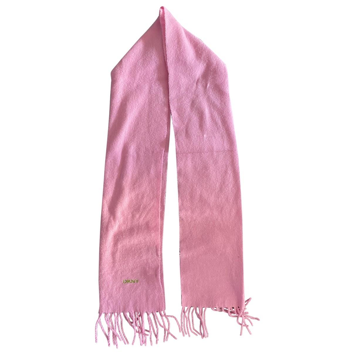 Dkny \N Pink Wool scarf for Women \N