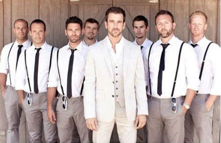 Groom Groomsmen Wedding Attire For Man
