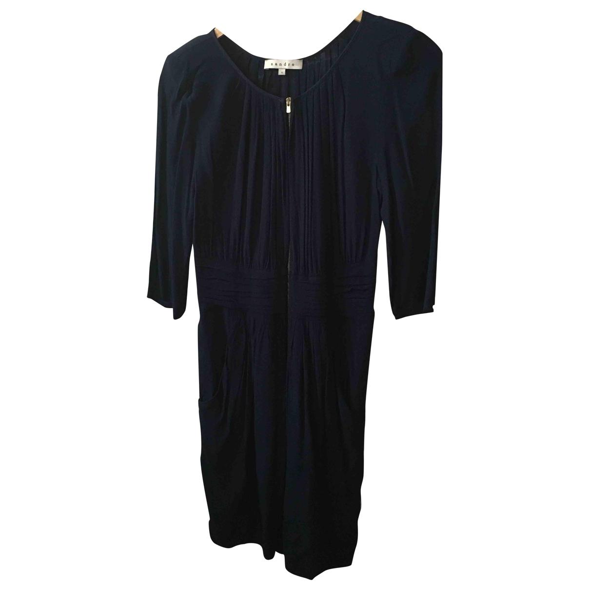 Sandro \N Blue dress for Women S International