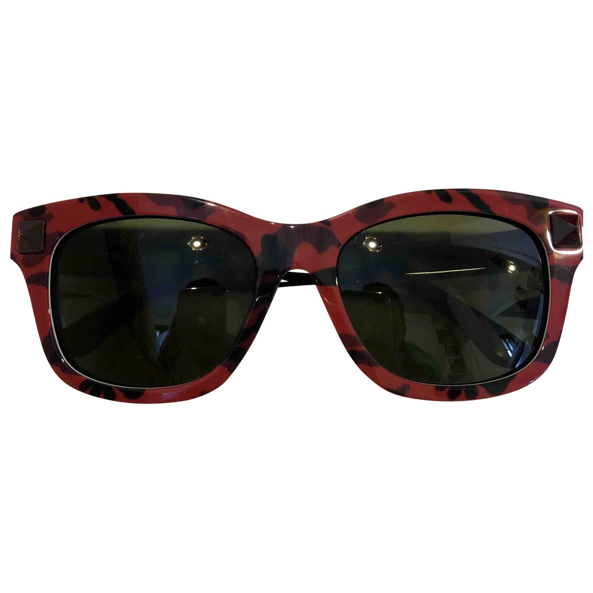 Valentino Garavani - Lunettes   pour femme - rouge