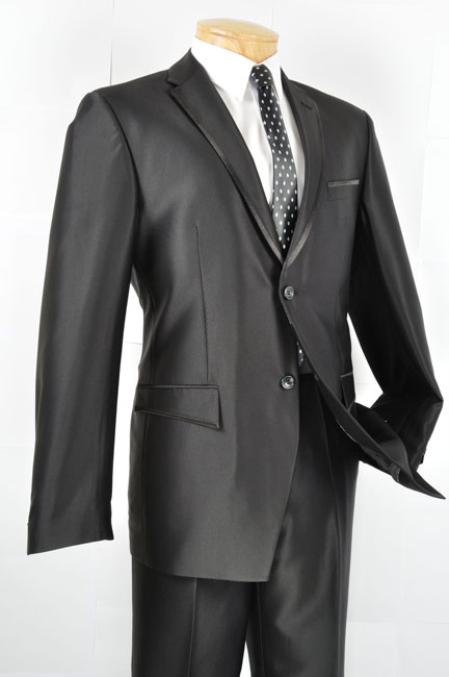 Mens Slim Fit Blazer/affordable suit online sale/Tuxedo /Black
