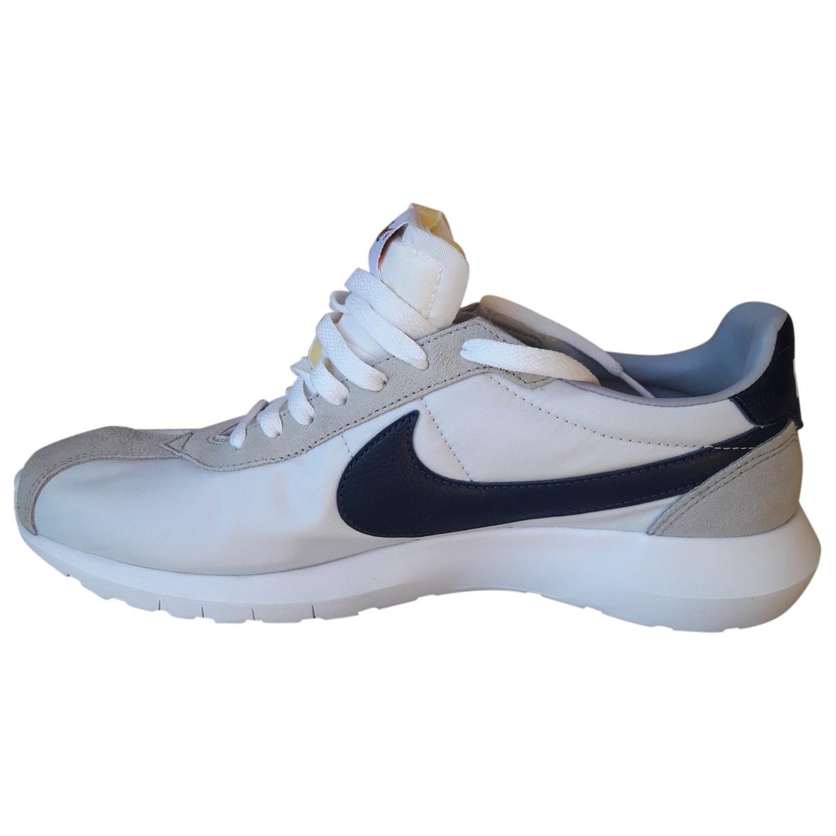 Nike - Baskets   pour homme en toile - gris