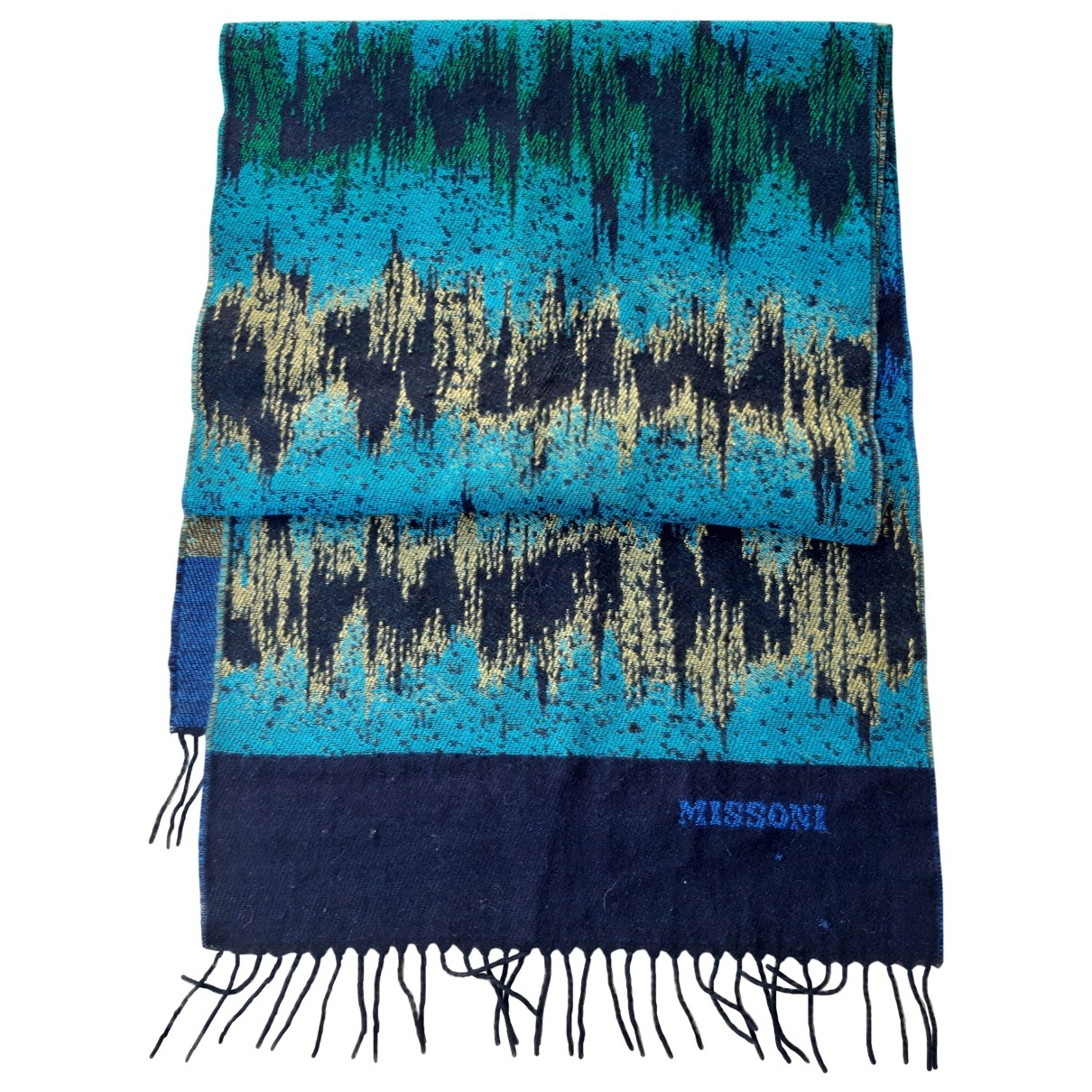 Missoni \N Blue Wool scarf for Women \N