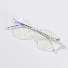 Brille mit Nieten Dekor und Acryl Rahmen