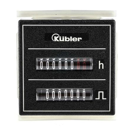Kubler Hour Counter, 7 digits, Screw Connection, 10 → 30 V dc