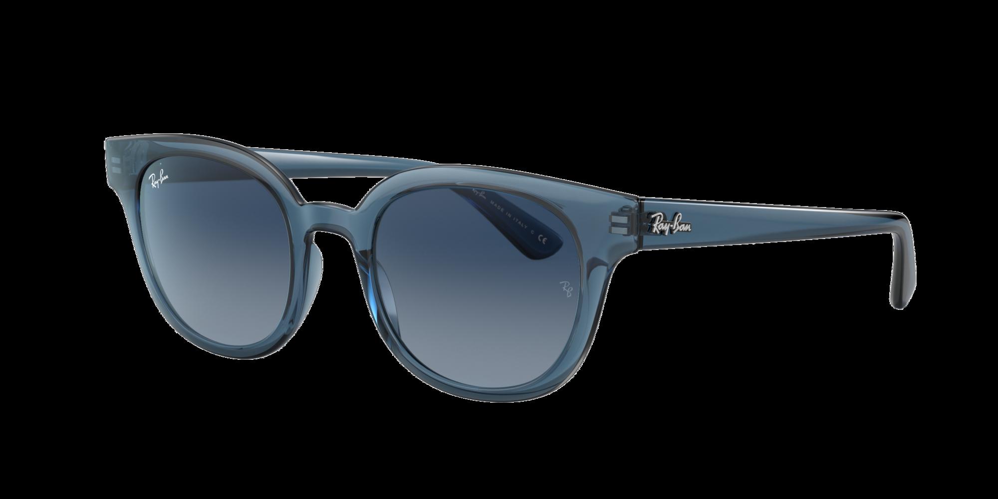 Ray Ban Unisex  RB4324 -  Frame color: Blue, Lens color: Blue Gradient, Size 50-21/150
