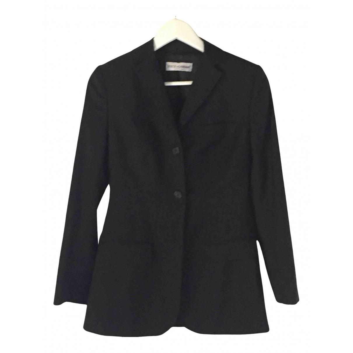 Dolce & Gabbana N Black Wool jacket for Women 40 IT