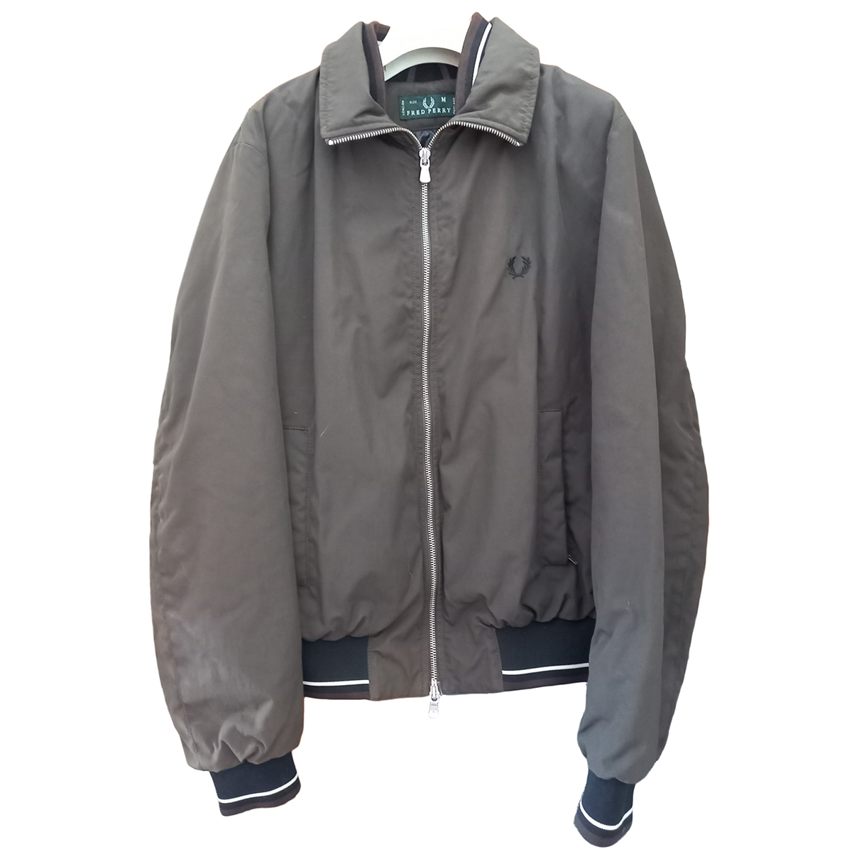 Fred Perry \N Jacke in  Braun Polyester