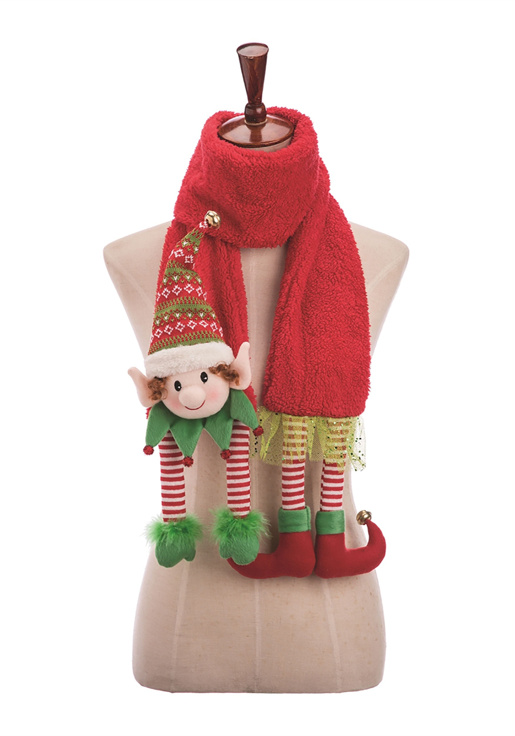 3D Elf Scarf with LED Lights