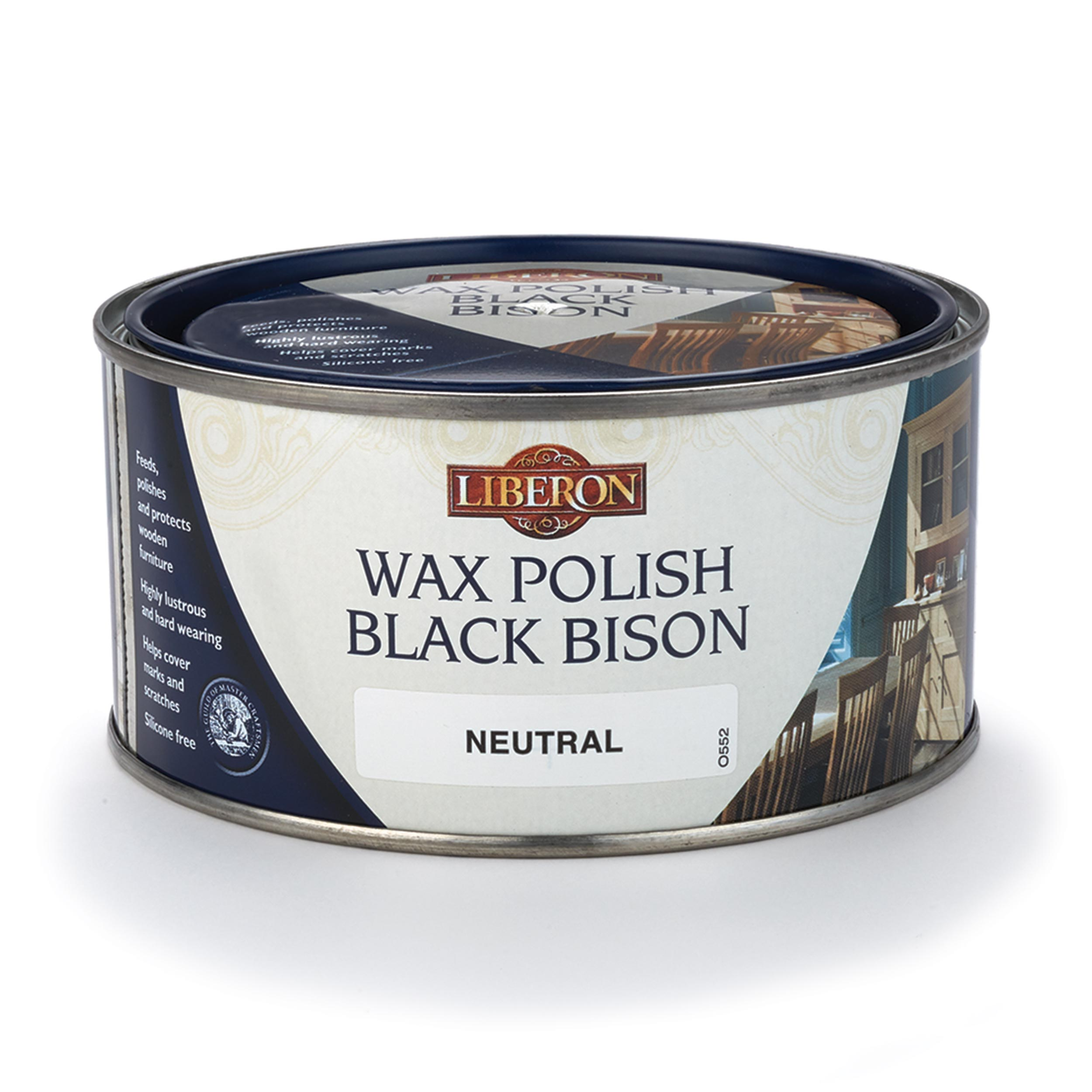 Neutral Wax Bison Solvent Based 500 ml