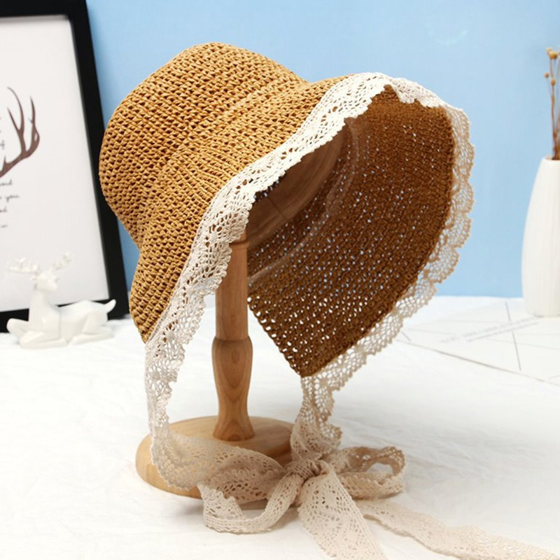 Ericdress Lace Casual Plain Fall Hats