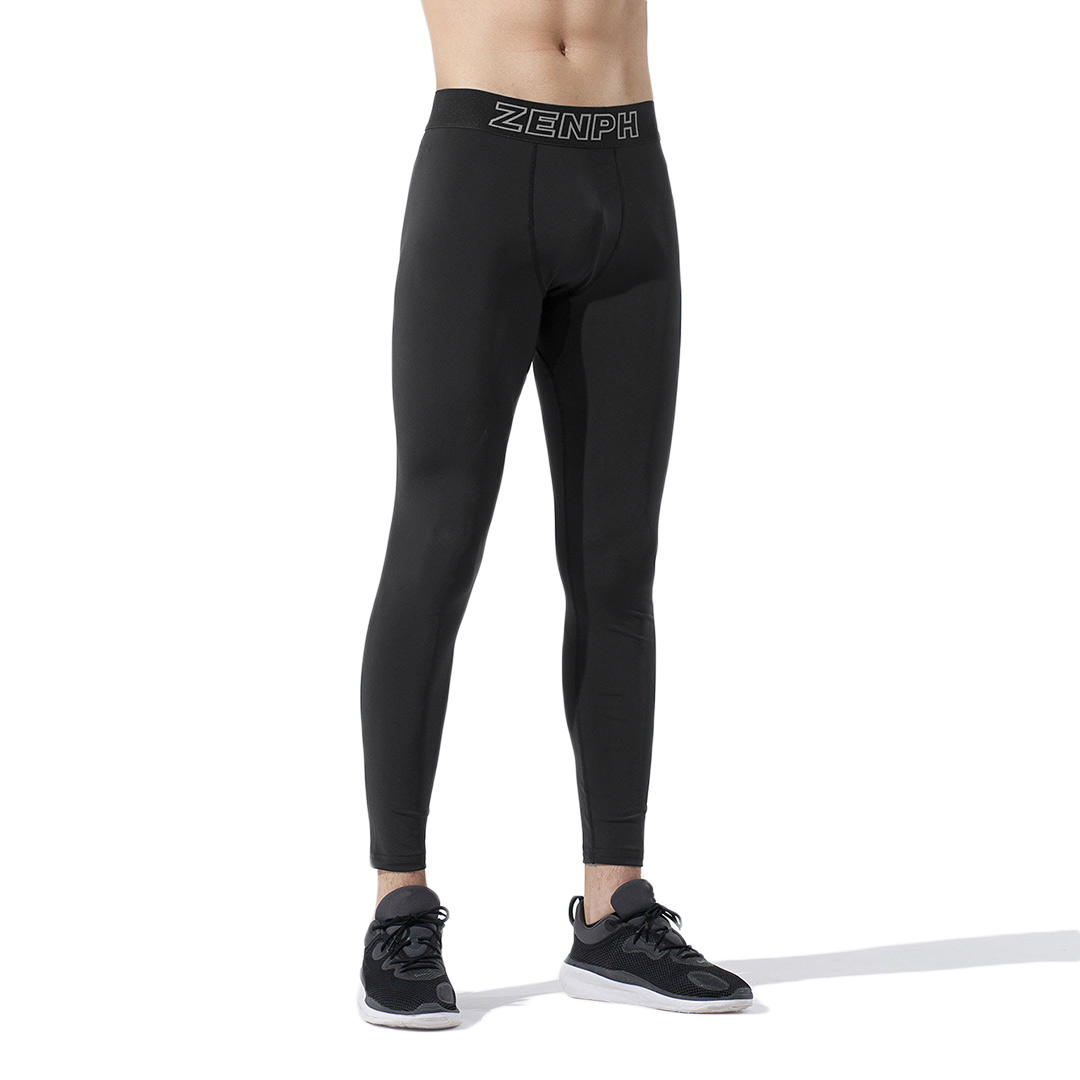 Zenph Men Tight Under Skin Sports Pants Fitness Yoga Gym Stretch Trousers Jogging Pants From