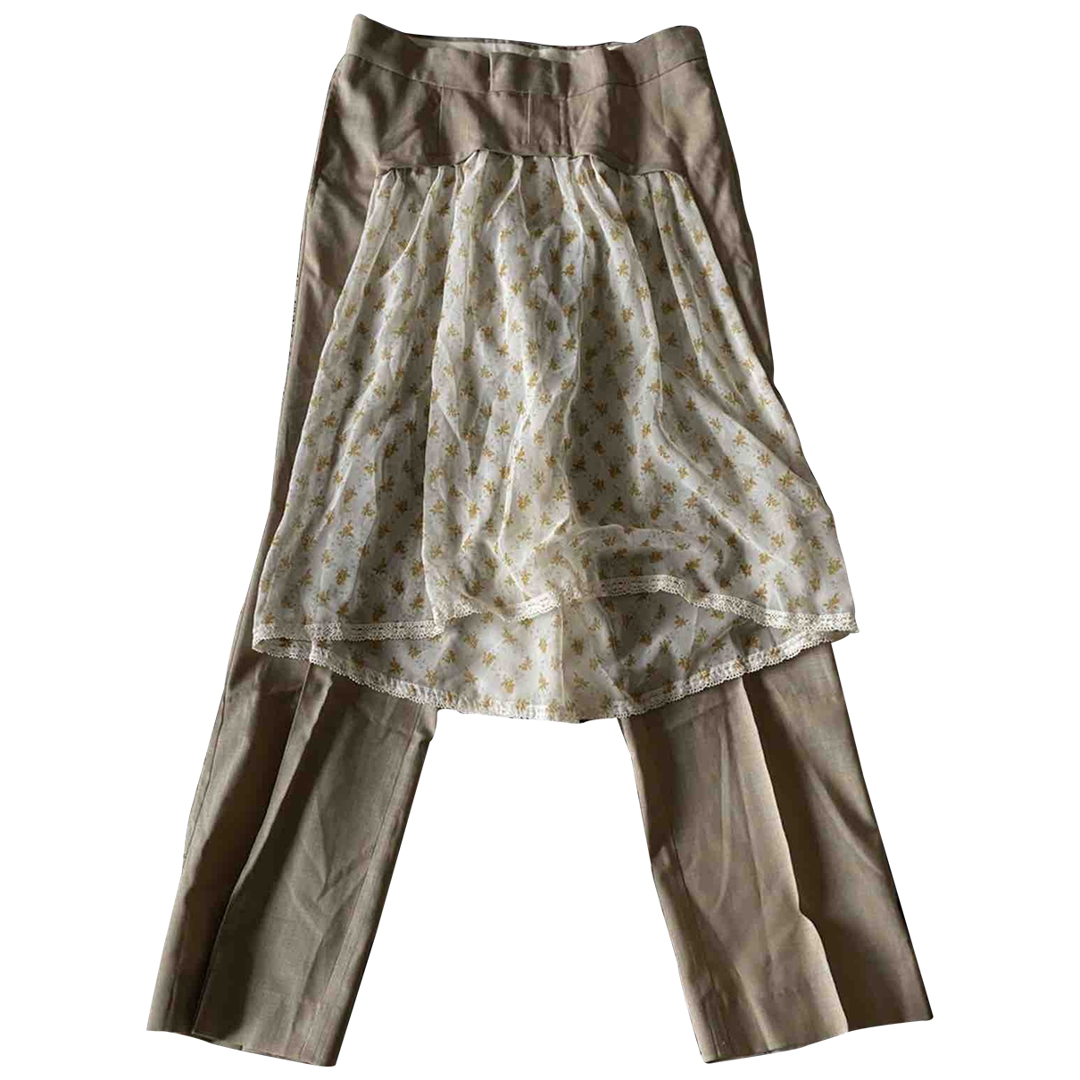 Undercover \N Cotton Trousers for Women S International