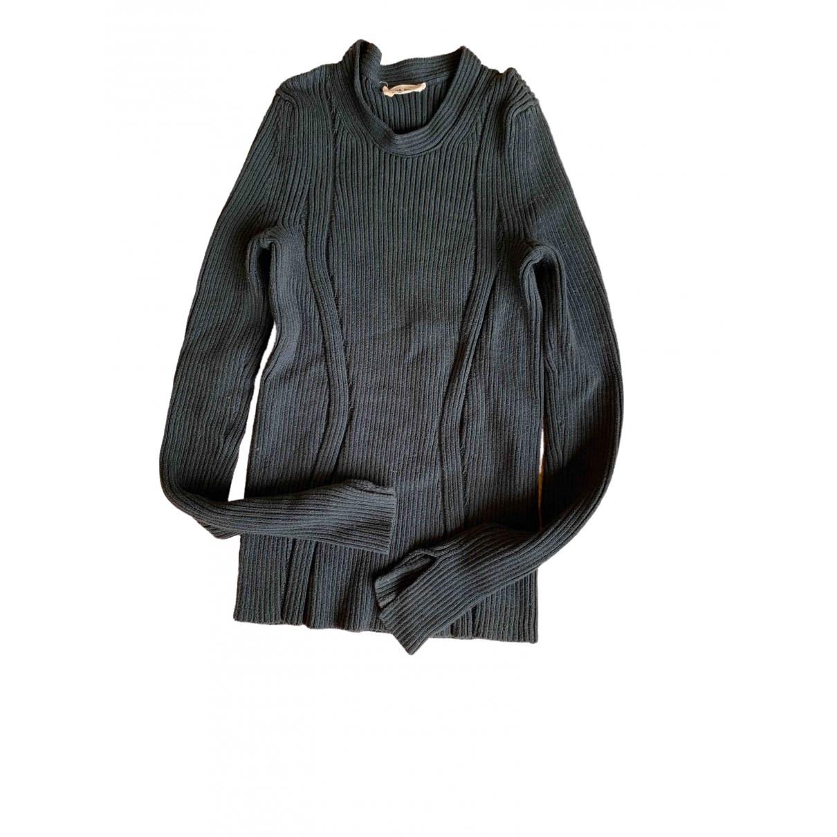 Sonia Rykiel - Pull   pour femme en laine - vert