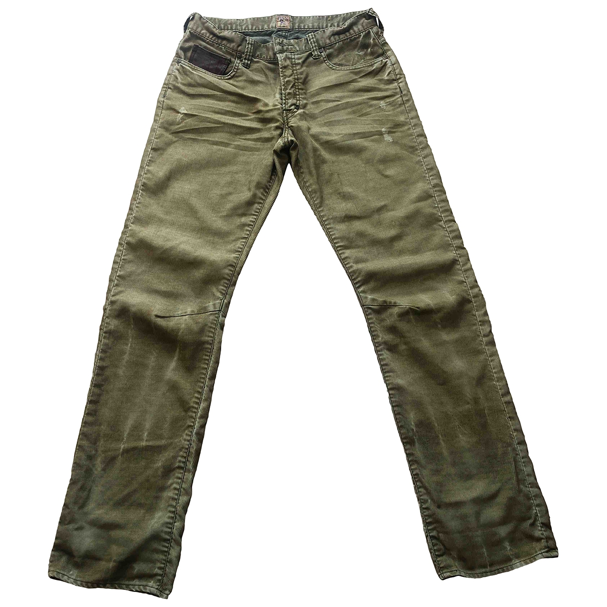 Prps \N Beige Velvet Trousers for Men 32 UK - US
