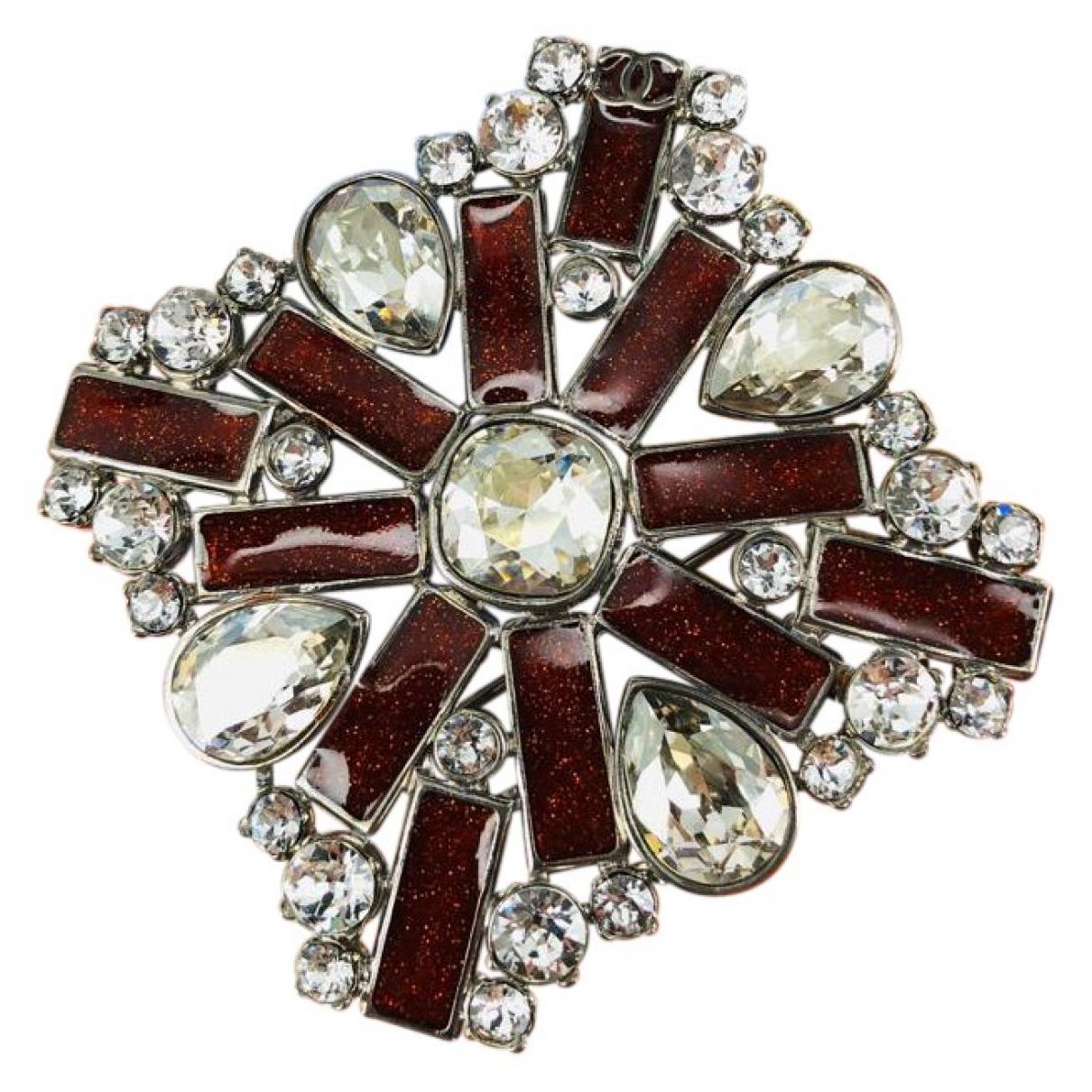 Chanel - Broche   pour femme en metal - multicolore