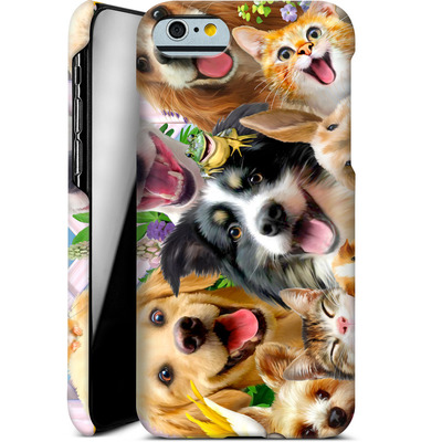 Apple iPhone 6s Smartphone Huelle - Selfie Backyard Pals von Howard Robinson