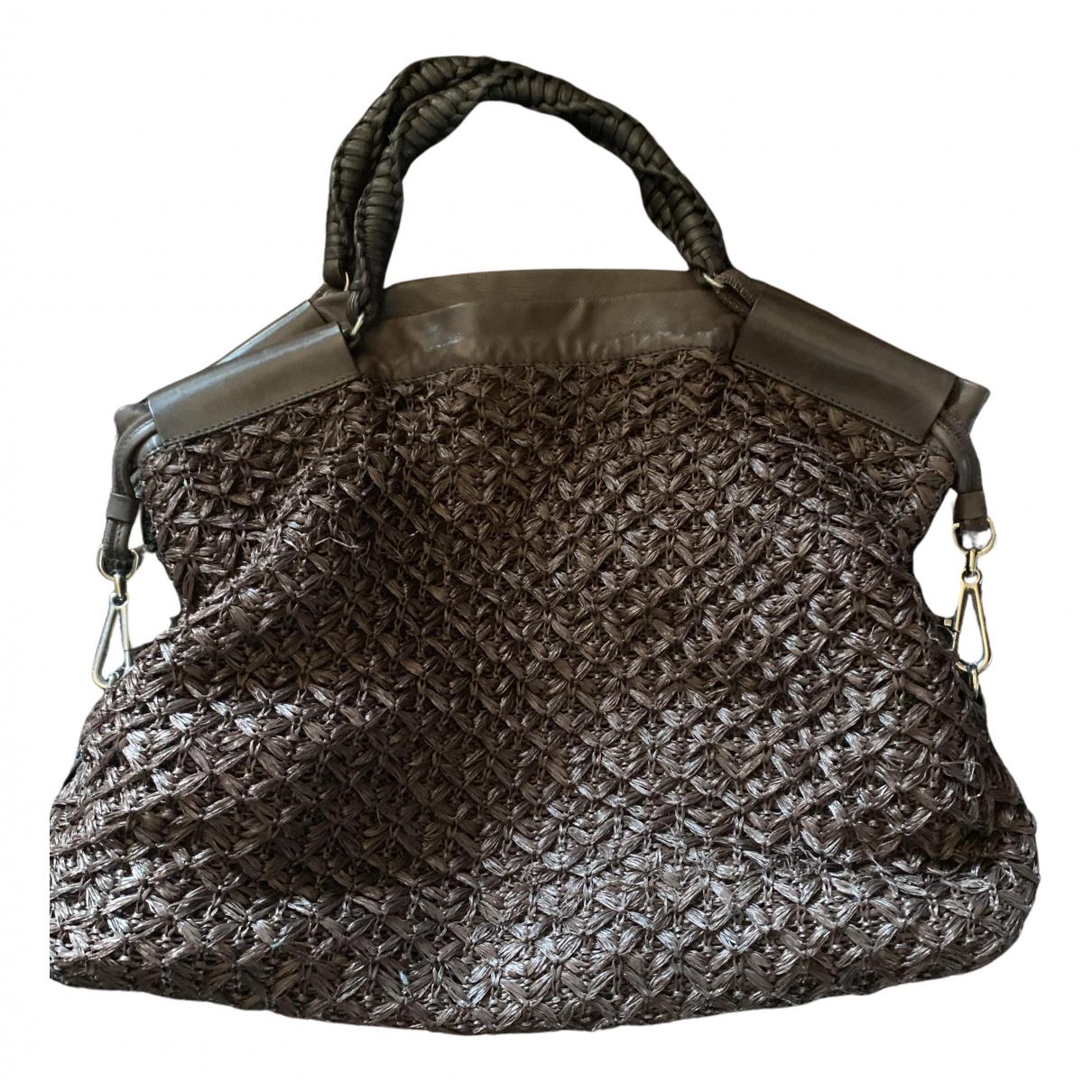 Ermanno Scervino N Brown Leather handbag for Women N