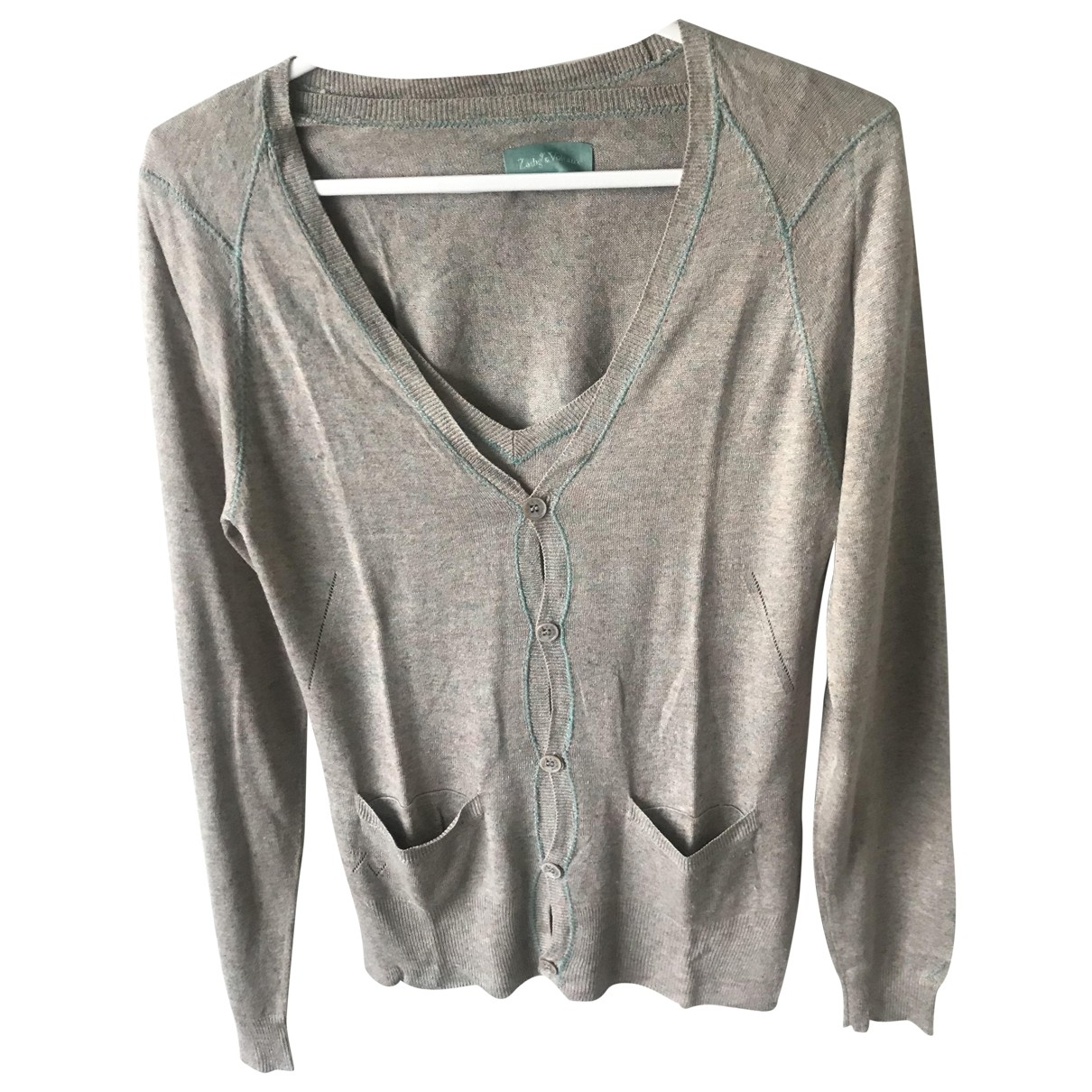 Zadig & Voltaire \N Beige Linen Knitwear for Women S International