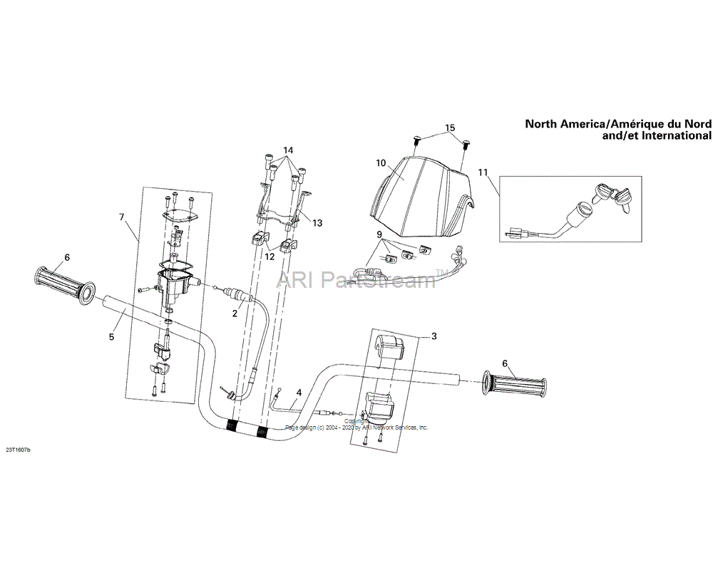 Can-AM OEM Position Light Harness Assembly