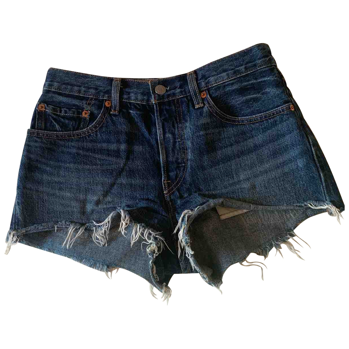 Levis \N Shorts in  Blau Denim - Jeans