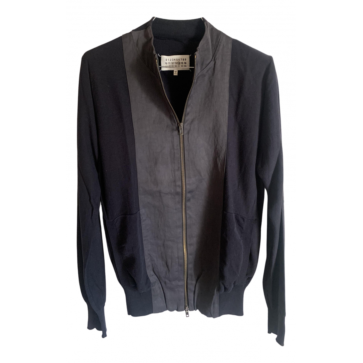Maison Martin Margiela \N Navy Cotton jacket  for Men S International