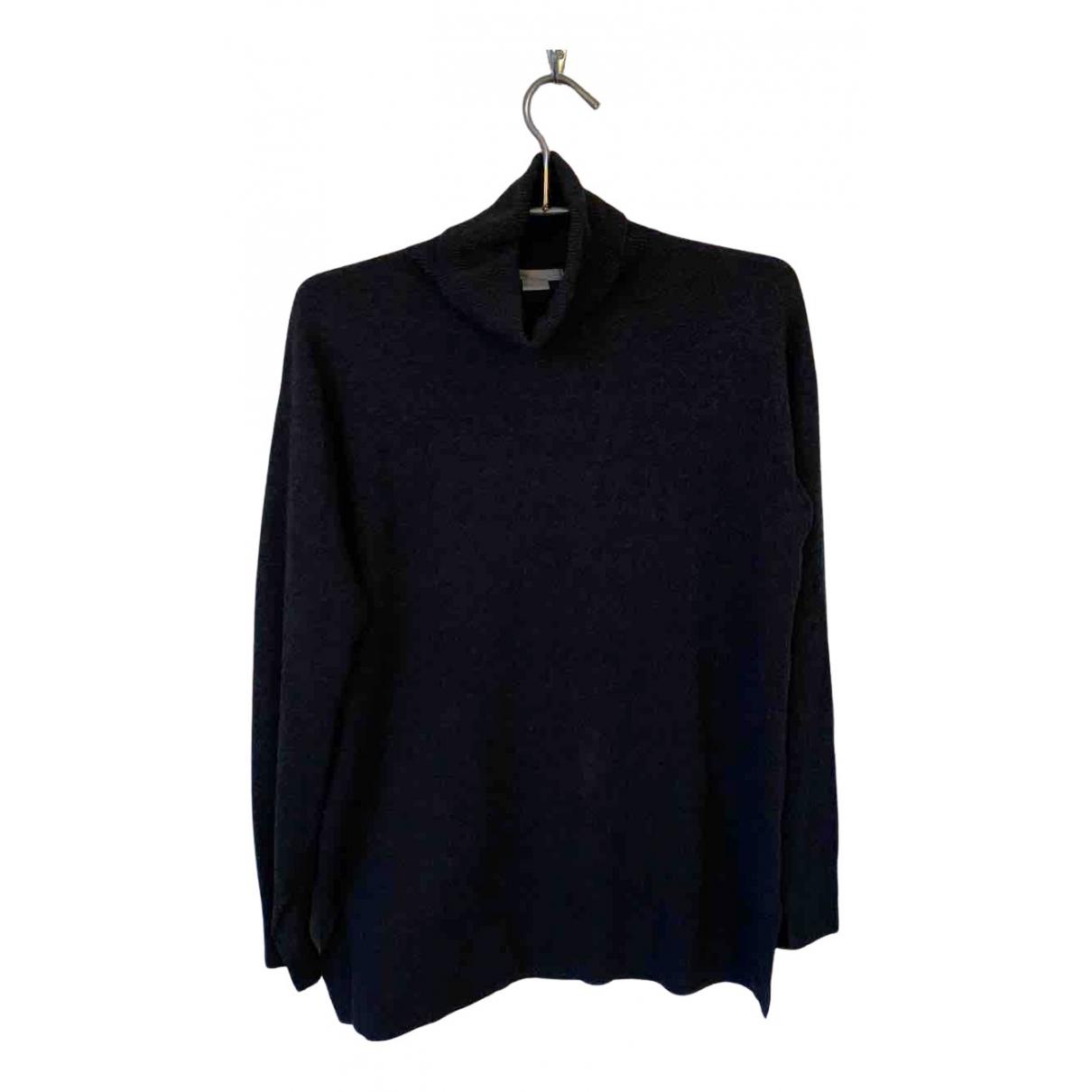 Non Signe / Unsigned Oversize Pullover in  Grau Kaschmir