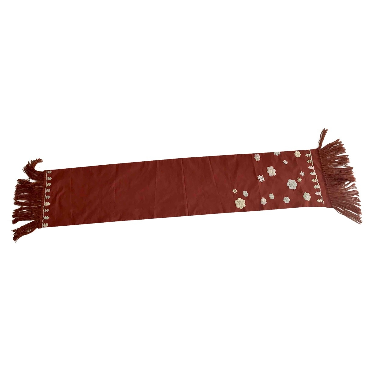 Altea \N Schal in  Rot Seide