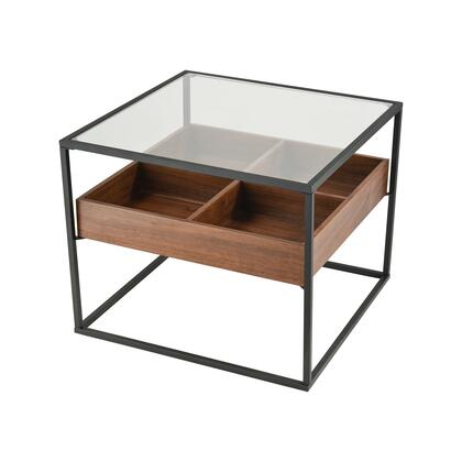 1203-007 Rubric Accent Table  In Black