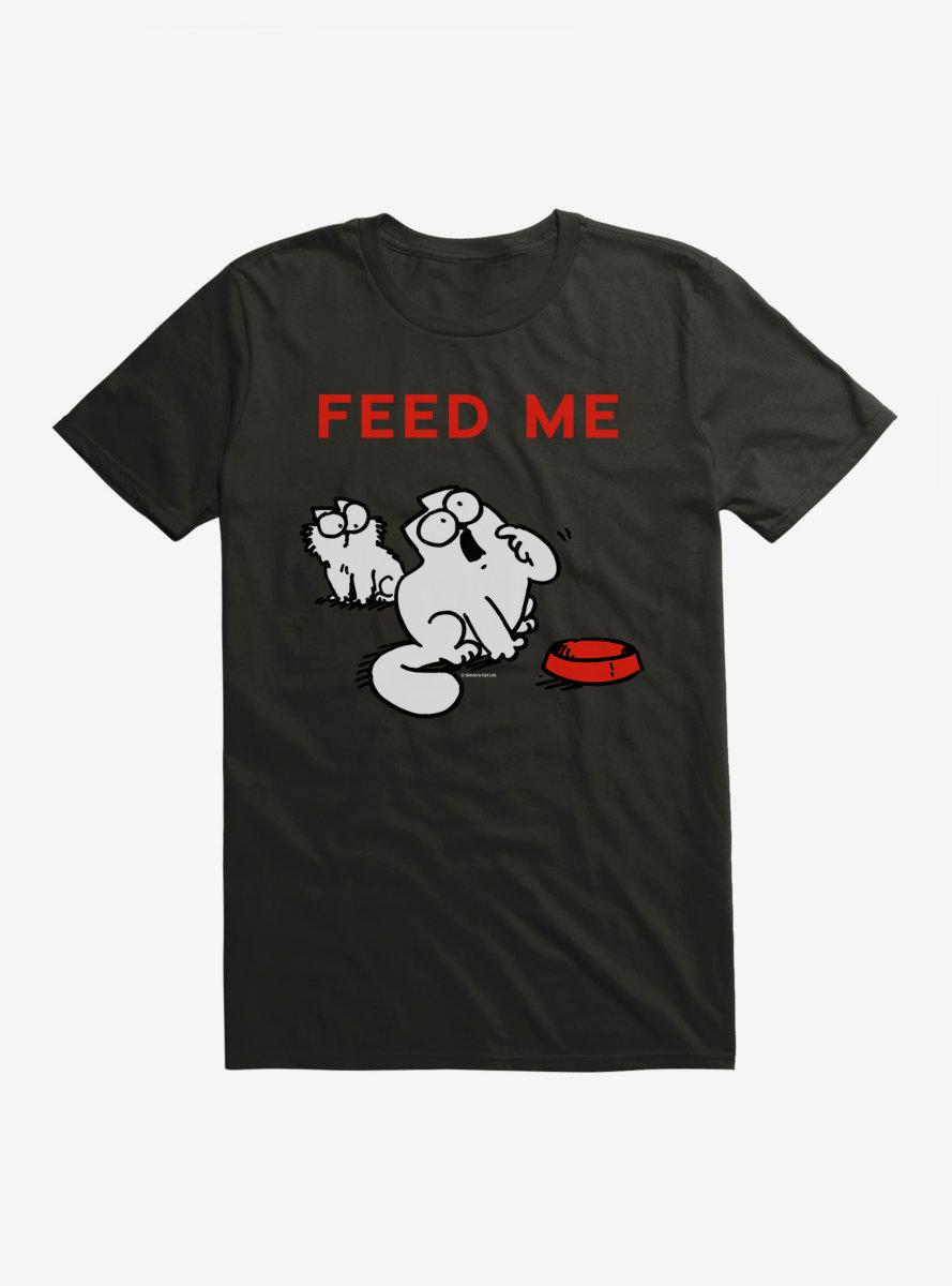 Simon's Cat Feed Me T-Shirt