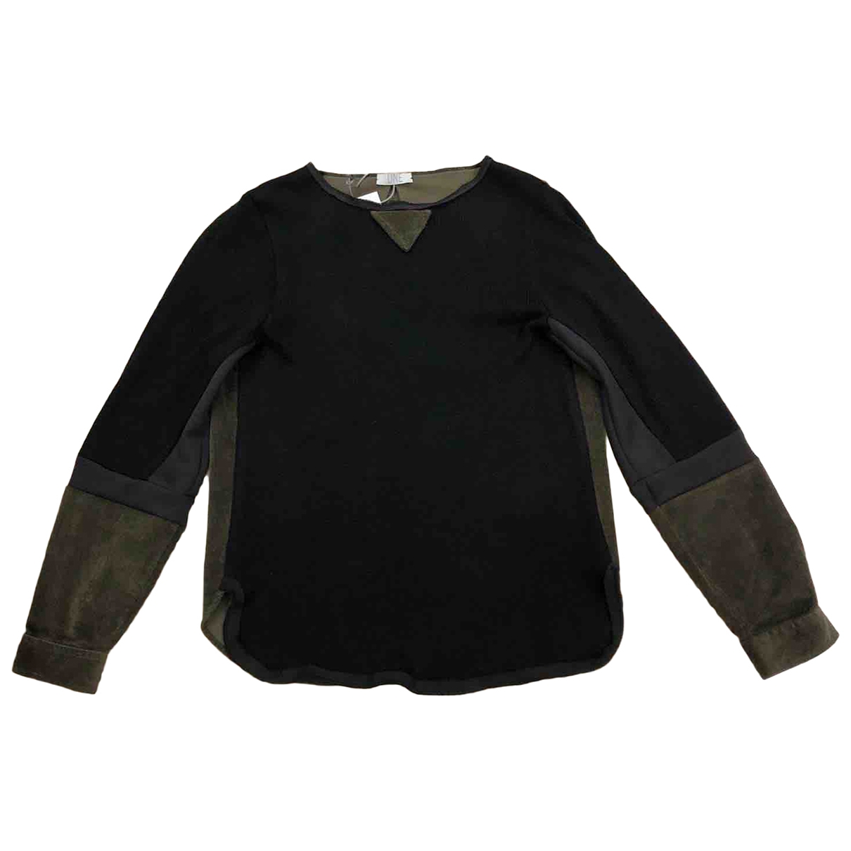 Non Signé / Unsigned \N Black Wool Knitwear & Sweatshirts for Men XL International
