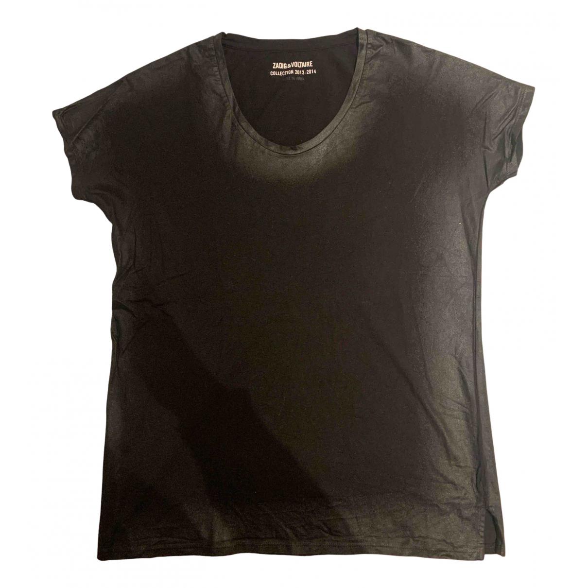 Zadig & Voltaire - Top   pour femme en coton - noir
