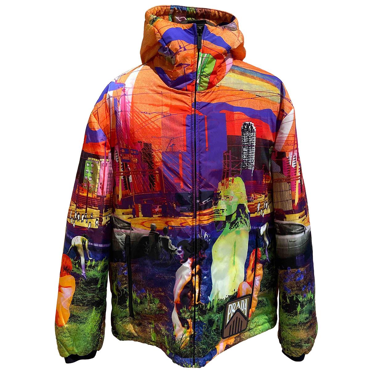 Prada - Manteau   pour femme en cachemire - multicolore
