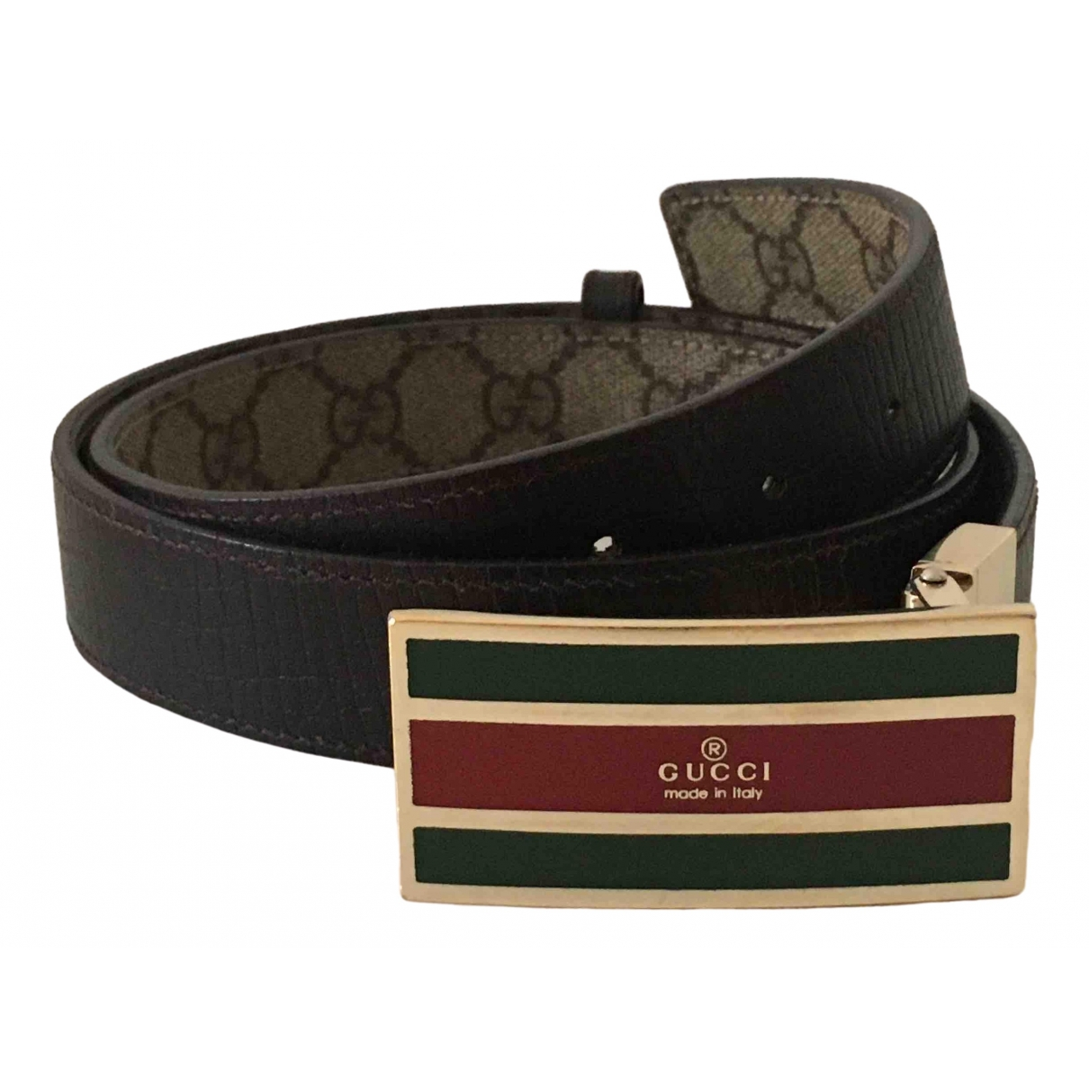 Gucci \N Brown Leather belt for Women 95 cm