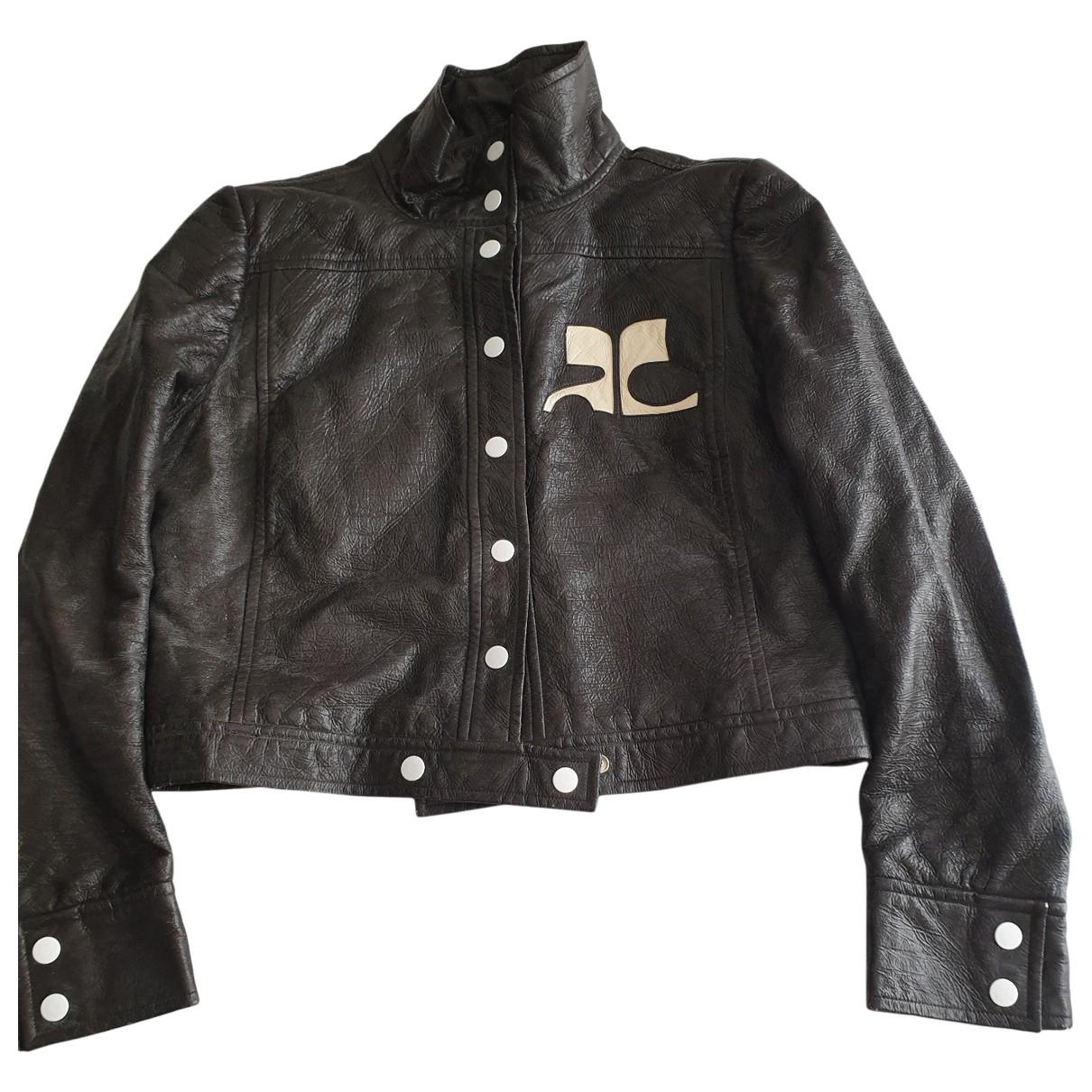 Courrèges \N Brown jacket for Women 36 FR