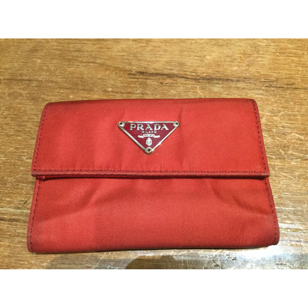 Prada \N Red Cloth wallet for Women \N