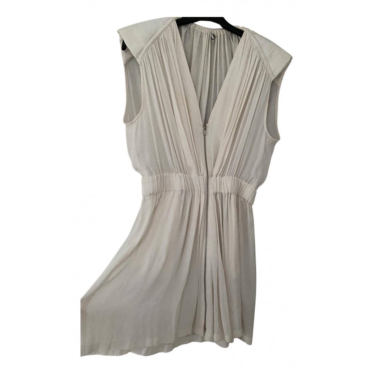 Iro \N Kleid in  Ecru Polyester