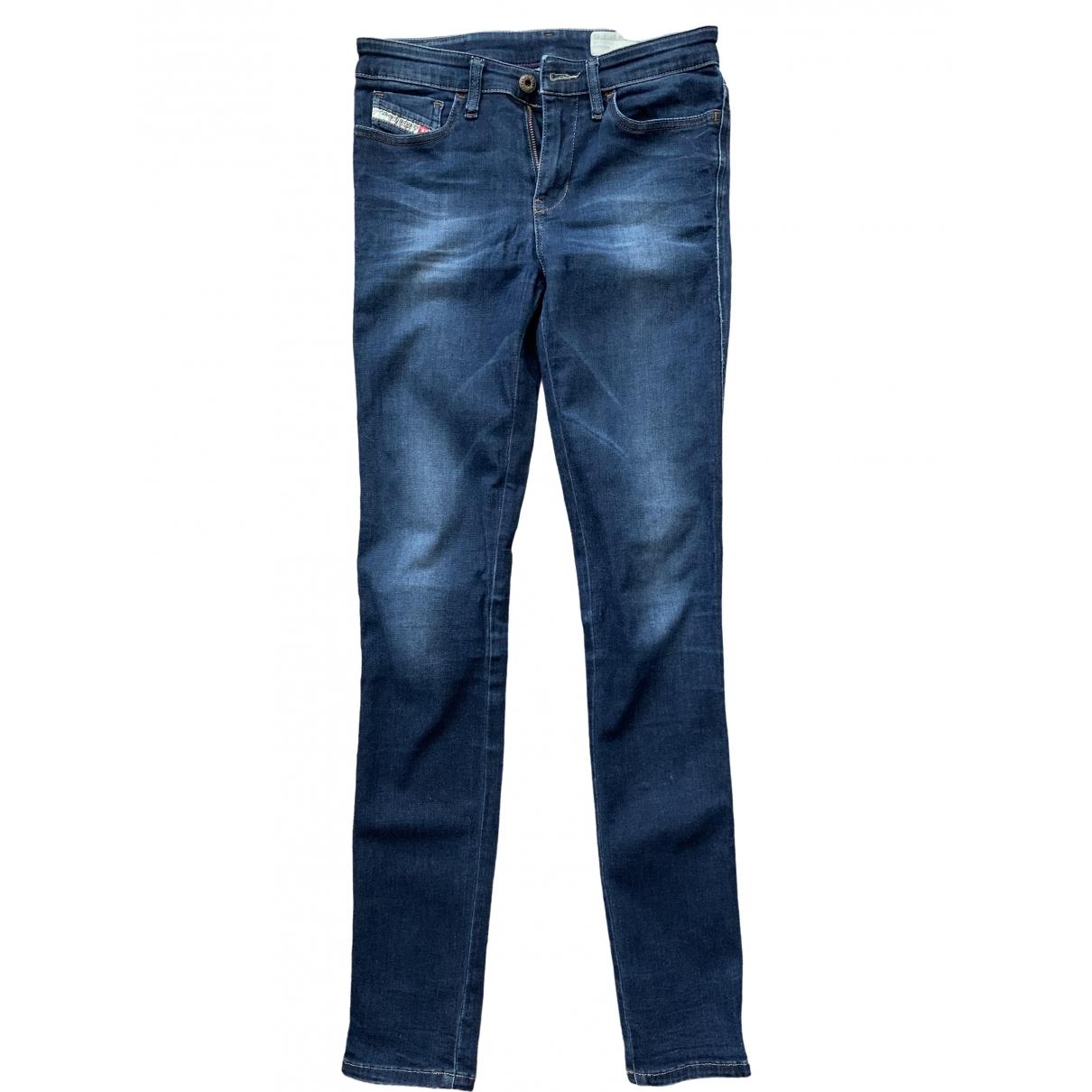 Diesel \N Blue Denim - Jeans Jeans for Women 27 US