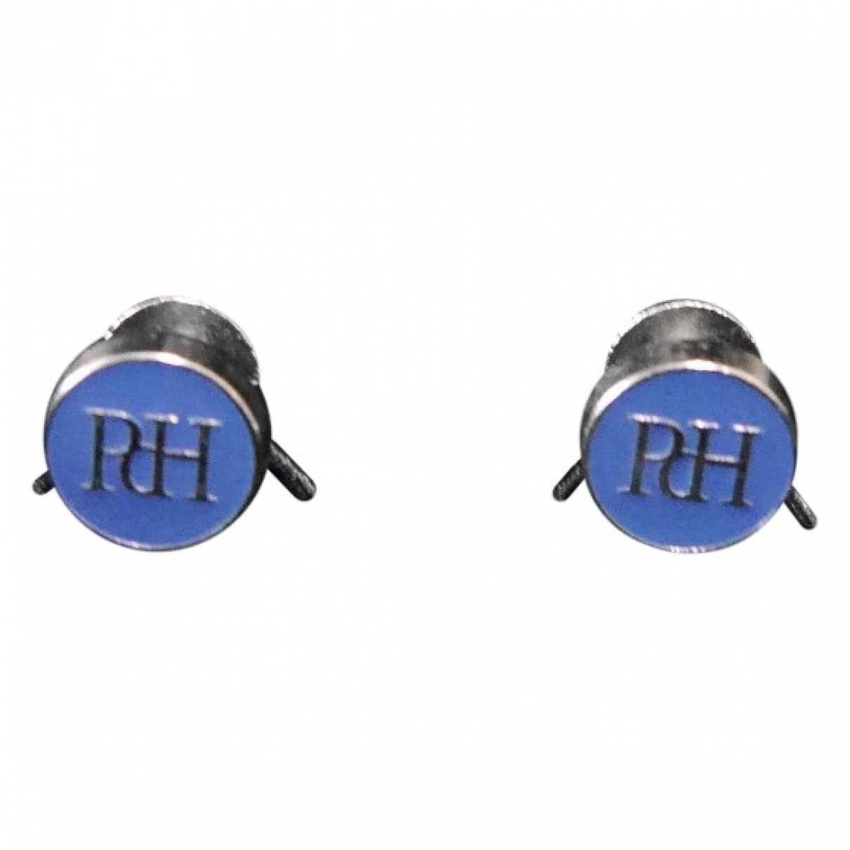 Pedro Del Hierro \N Manschettenknopfe in  Blau Metall