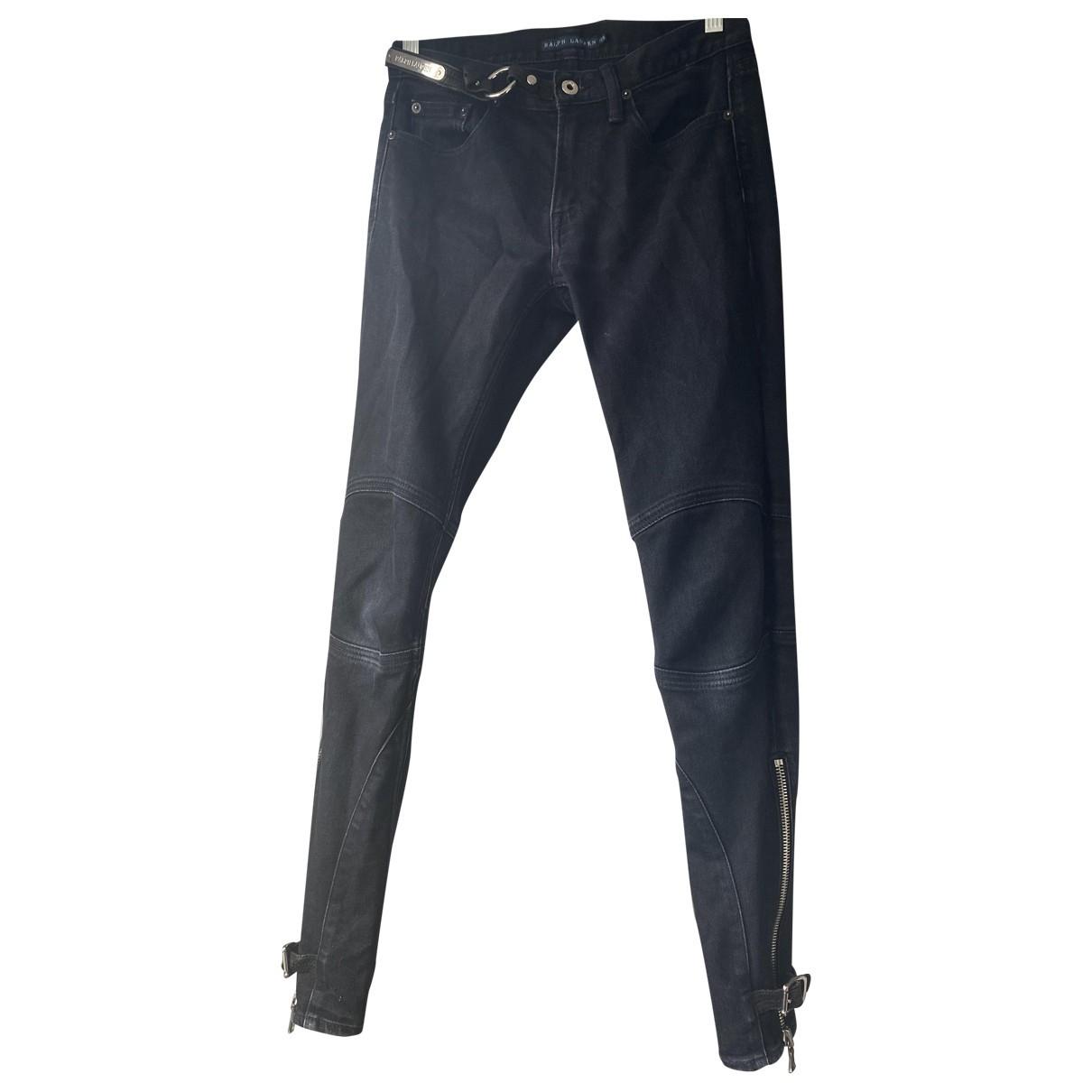 Ralph Lauren \N Blue Cotton Jeans for Women 27 US