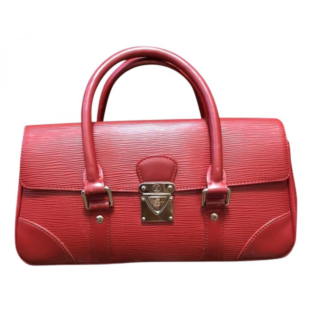 Louis Vuitton Segur Red Leather handbag for Women N