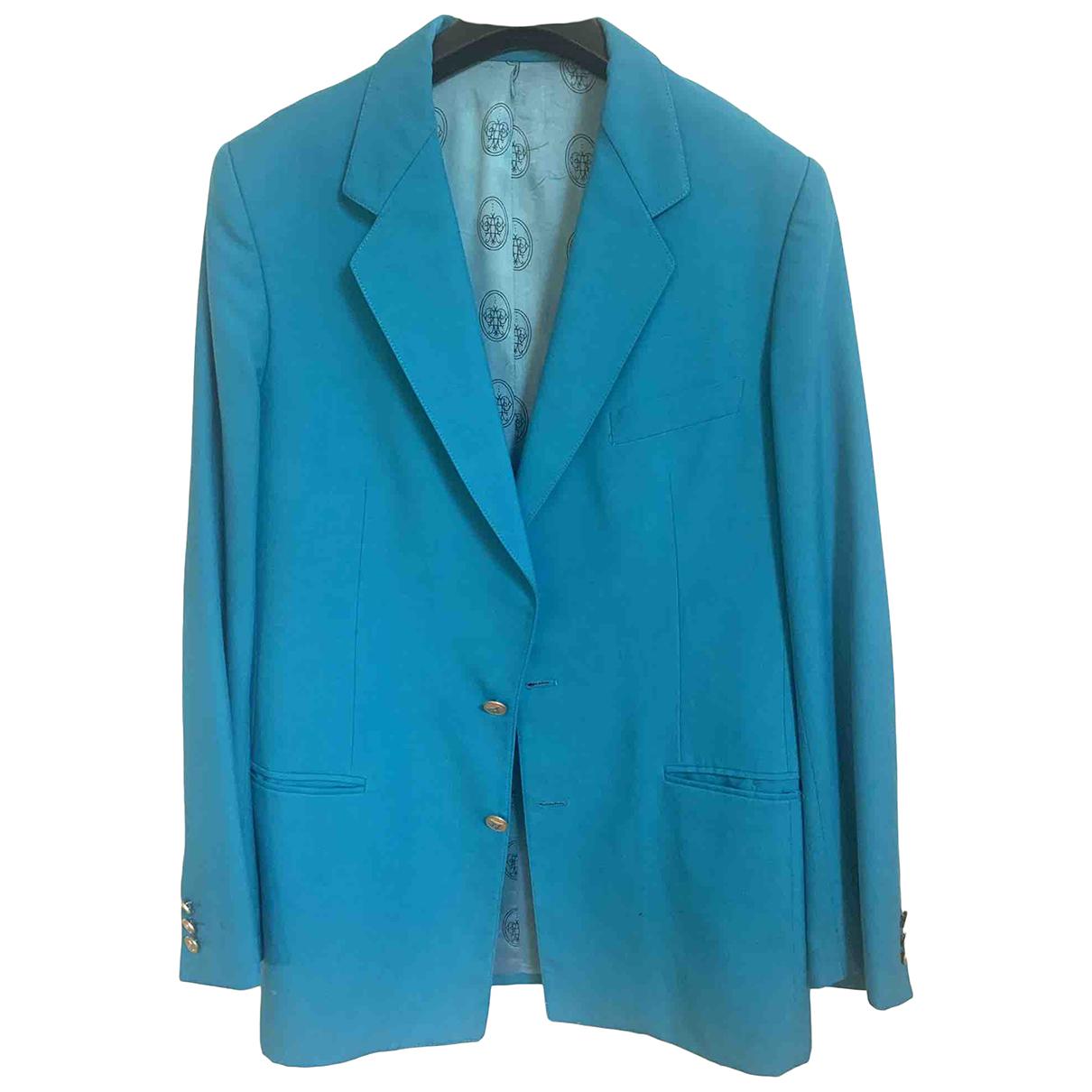 Emilio Pucci - Vestes.Blousons   pour homme en laine - turquoise