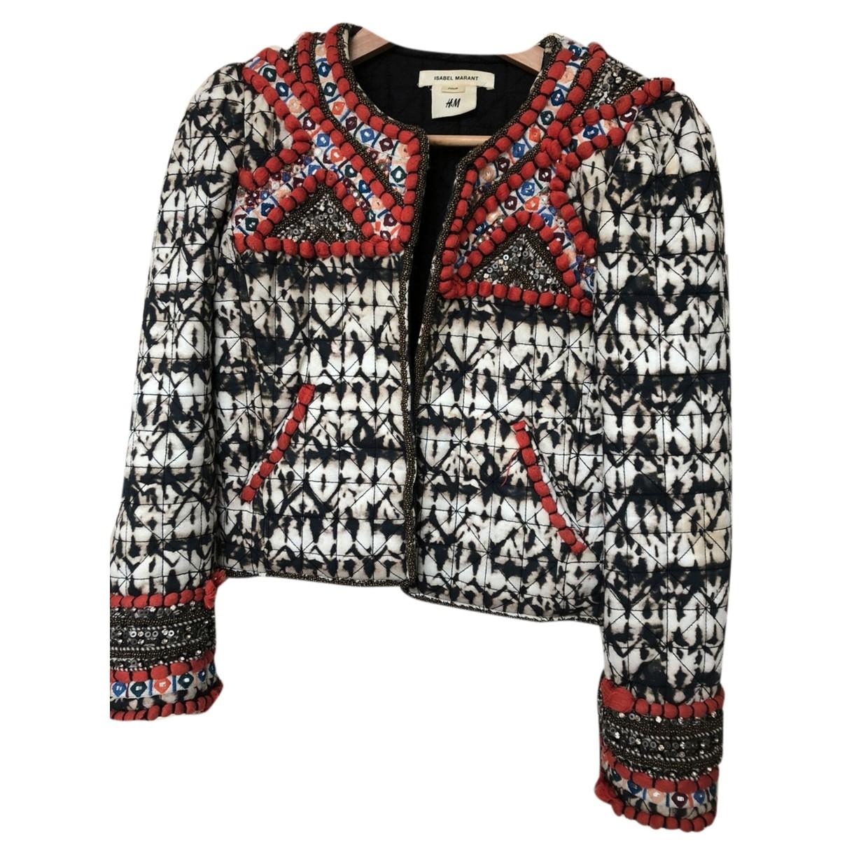 Isabel Marant Pour H&m - Blouson   pour femme en coton - multicolore