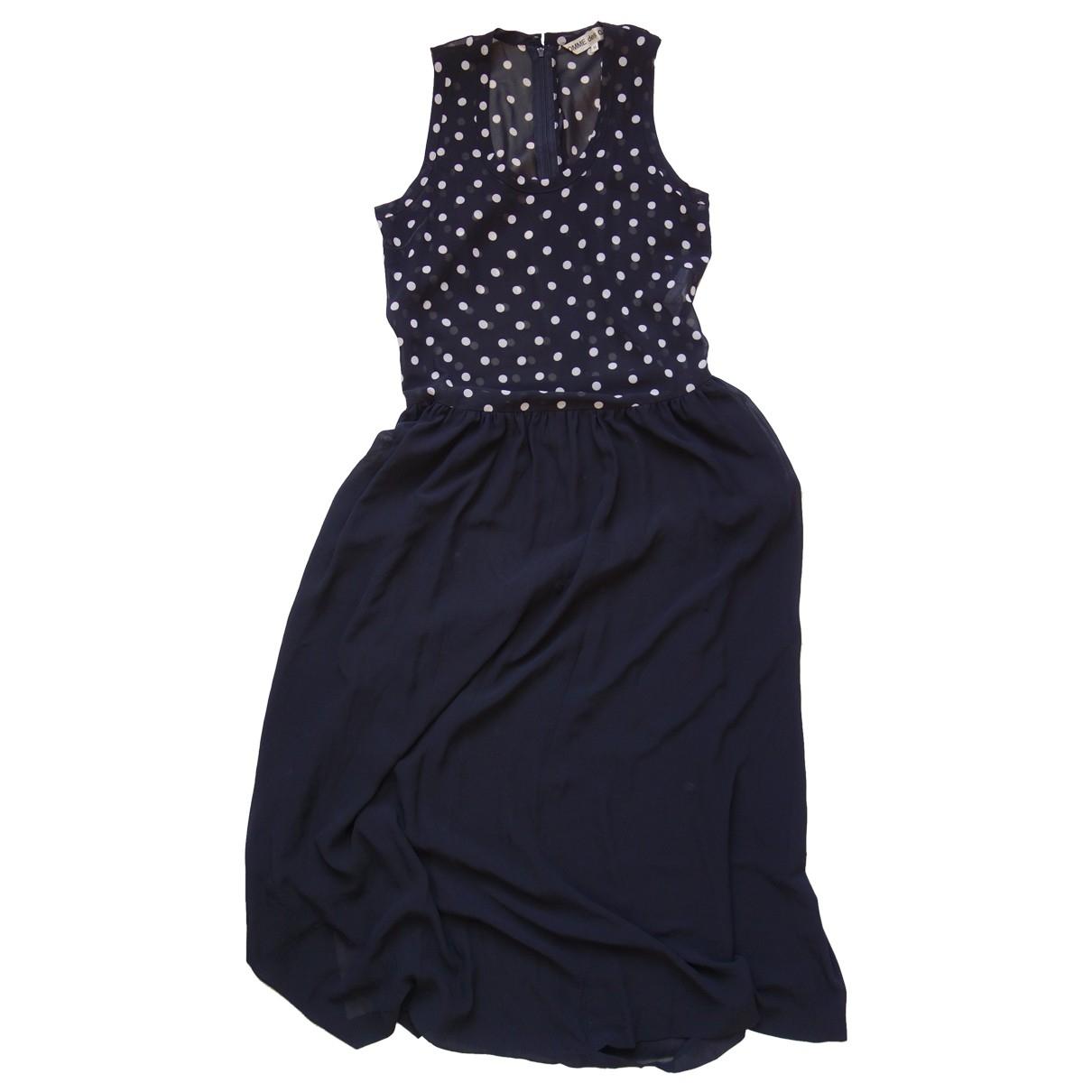 Comme Des Garcons \N Kleid in  Schwarz Polyester