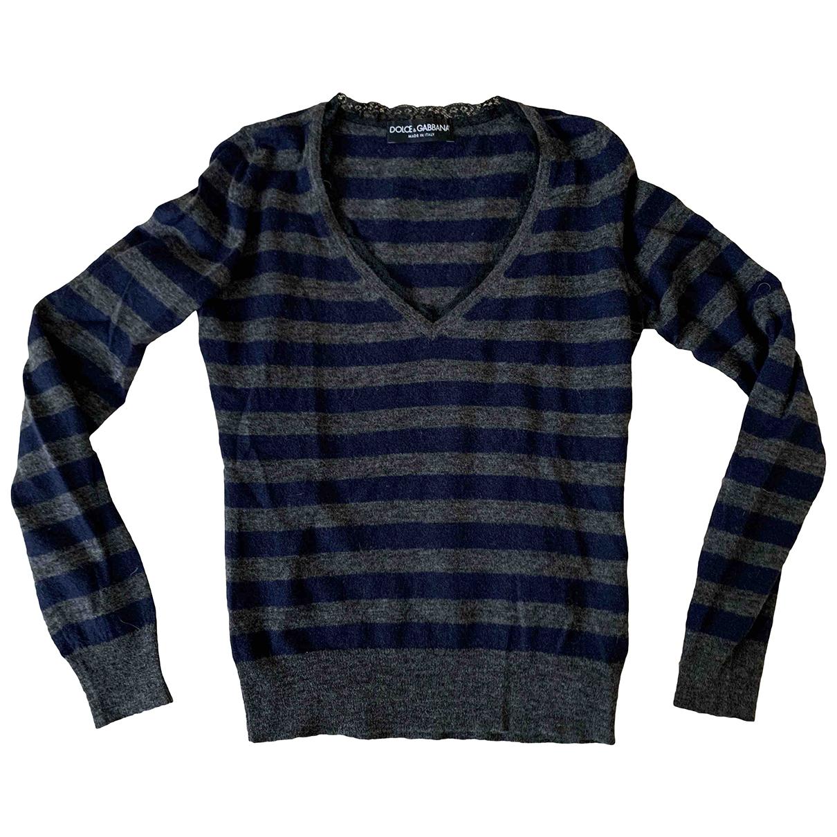 Dolce & Gabbana - Pull   pour femme en laine - gris