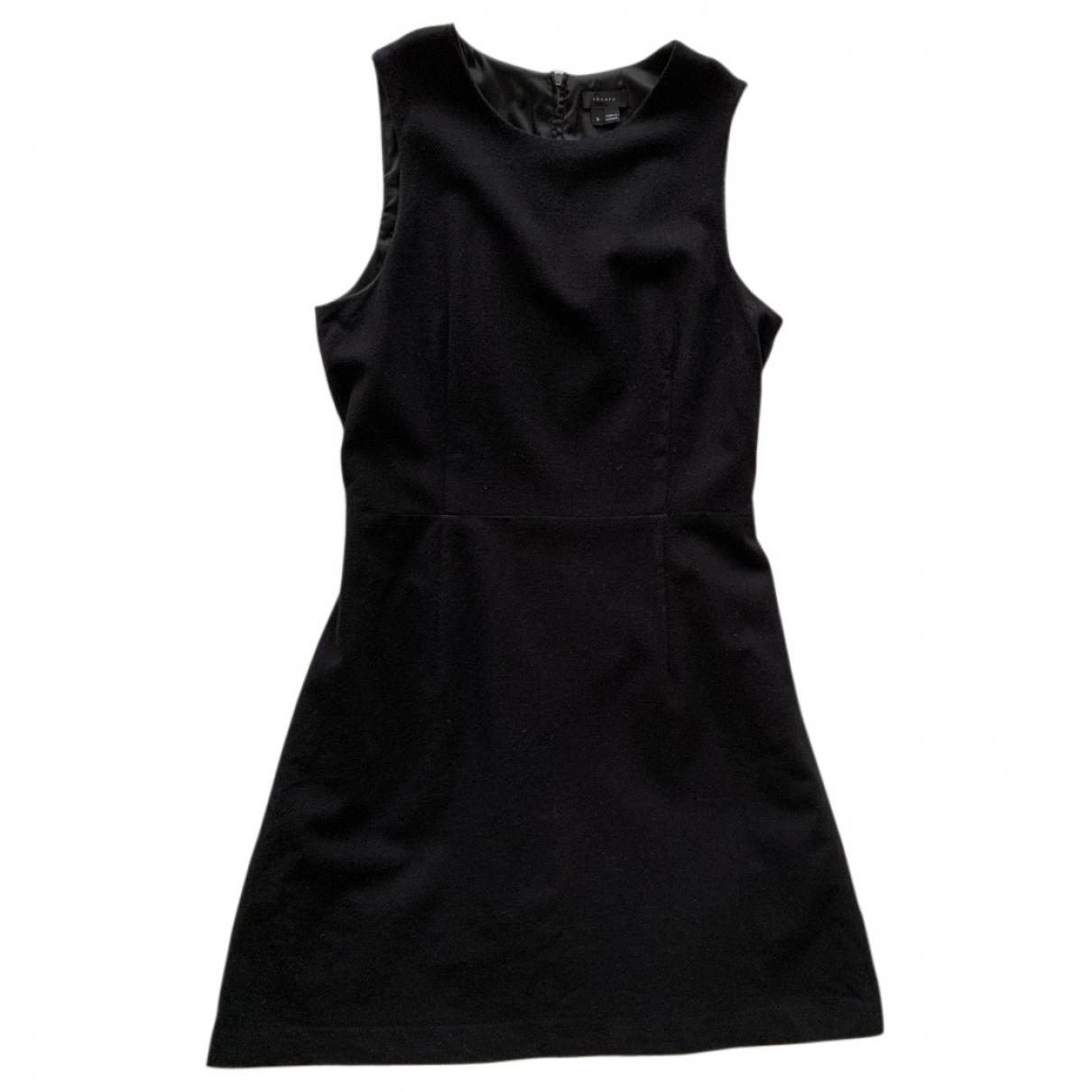 Theory - Robe   pour femme en laine - noir