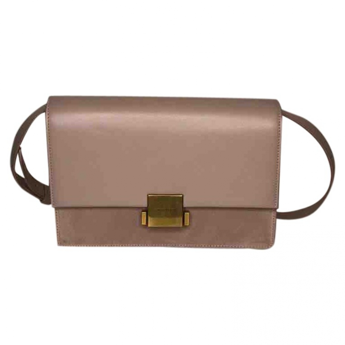 Saint Laurent \N Pink Leather handbag for Women \N