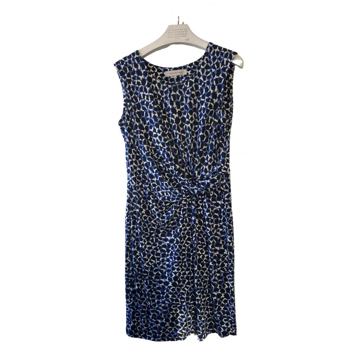 Gerard Darel \N Kleid in  Blau Seide