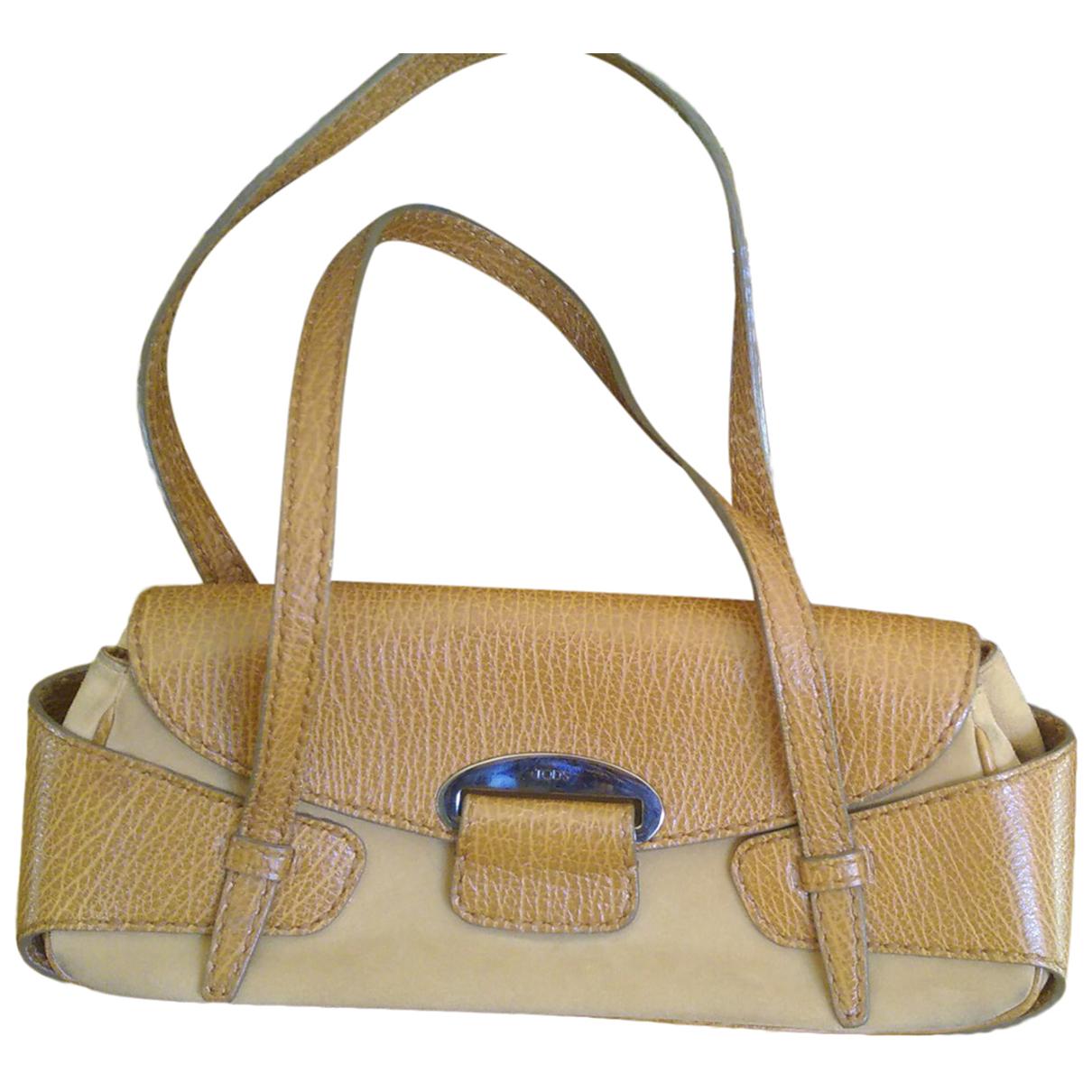 Tod's Wave Camel Leather handbag for Women N